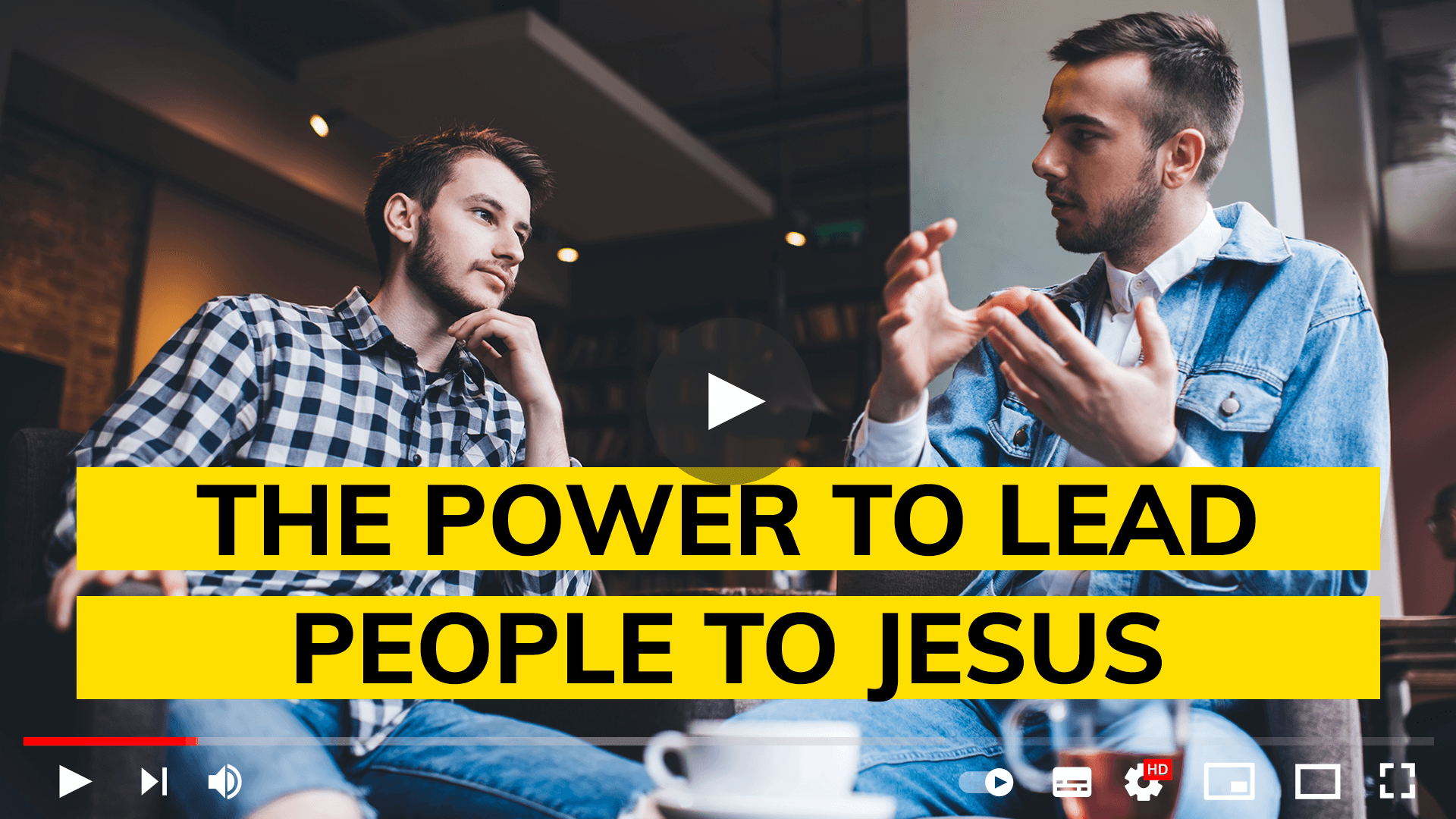 The power to lead people to Jesus
